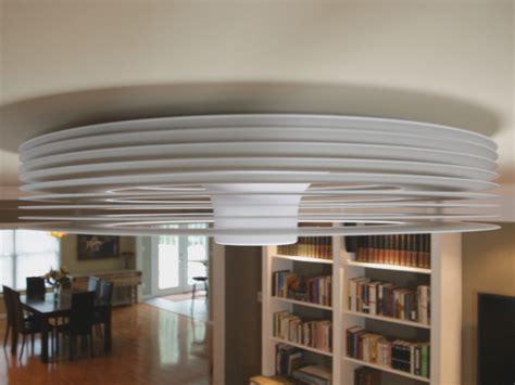 Bladeless Ceiling Fan by Exhale Fan World S Bladeless Ceiling Fan The