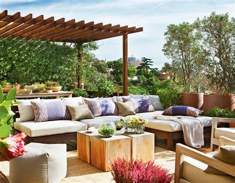 sofa l terraza reforma de una casa con terraza