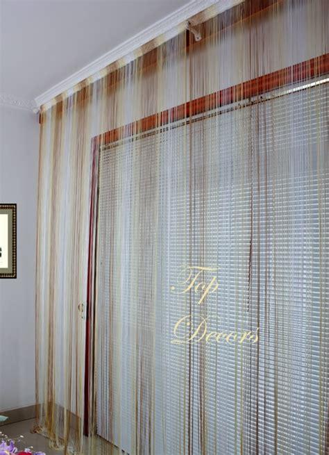 string curtain divider blind w300 l290 ivory mix ebay