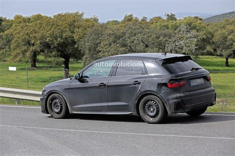 2019 Audi A1 Sportback Spied Completely Undisguised
