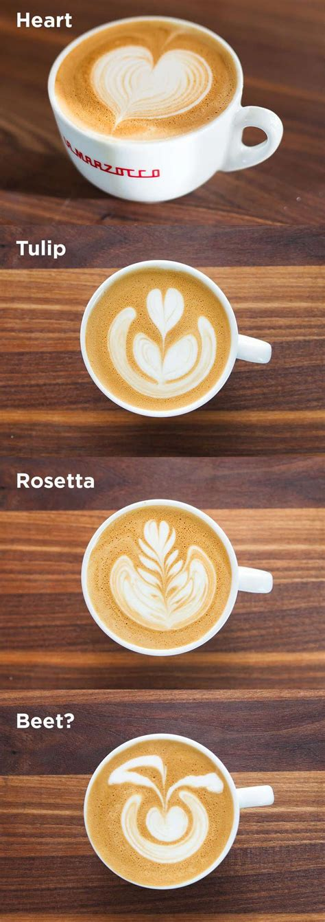 A small latte has one shot and six to eight ounces of steamed milk, so it contains about 77 mg of caffeine. Latte Art: tips, tricks + video   ChefSteps #coffee time Which one do you like the most? # ...