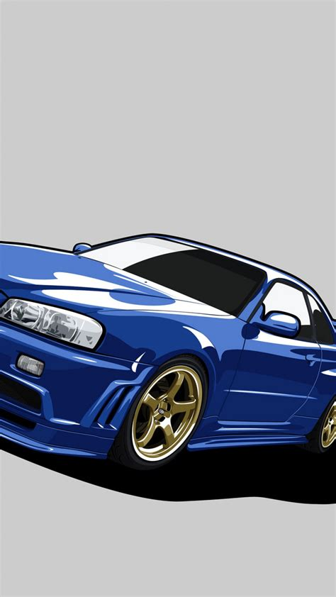 nissan skyline gtr  wallpaper iphone impremedianet