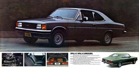 1981 Chevrolet Opala brochure
