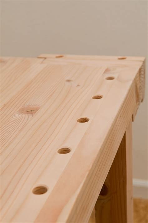 drill perfectly vertical bench dog holes