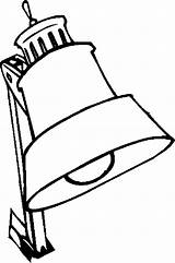 Desk Lamp Furniture Coloring Pages sketch template