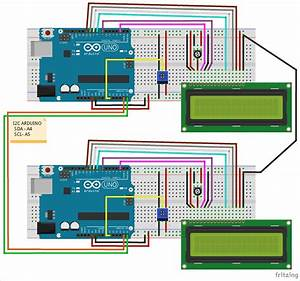 Arduino I2c Tutorial  Communication Between Two Arduino Boards