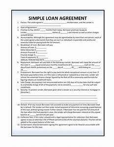 free loan agreement forms pdf template form download With free mortgage document template