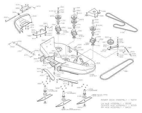 Dixon Parts Diagram For Mower Deck