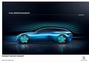 Peugeot Voiture Autonome : gen ve 2017 peugeot instinct concept la voiture autonome plaisir l 39 argus ~ Voncanada.com Idées de Décoration