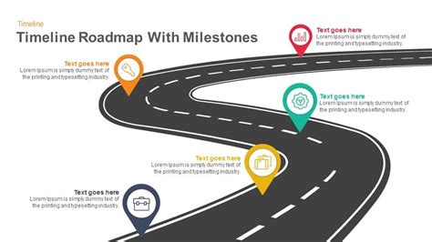 timeline roadmap  milestones powerpoint template