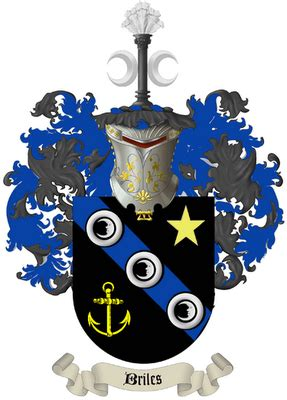 briles information network  briles family crest