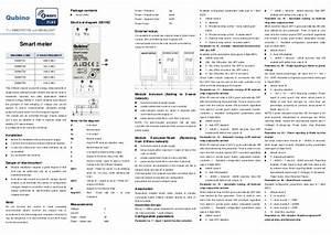 Manual Qubino Smart Meter Plus