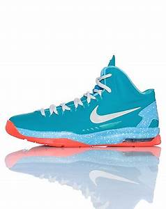 NIKE KEVIN DURANT High top kid s sneaker Lace up closure