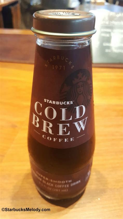 Salted caramel cream cold brew. Cold Brew in a Bottle: Starbucks deliciousness - StarbucksMelody.com