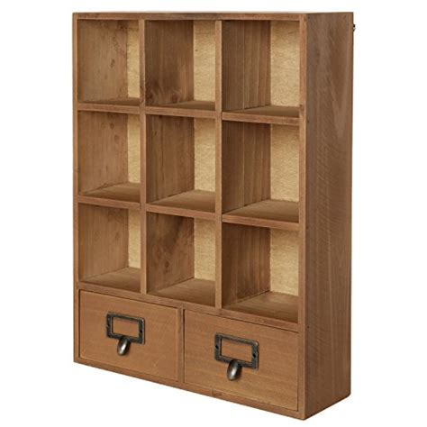 wooden storage shelves amazoncom