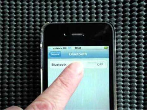 pair iphone to car pair iphone 4 to bluetooth car kits