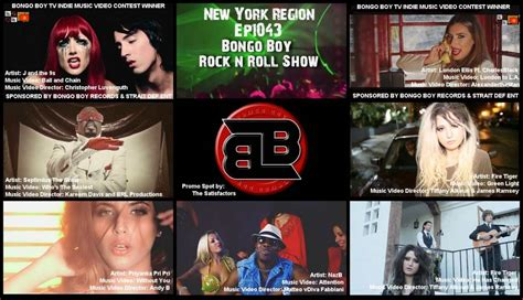 Bongo Boy Rock N' Roll Tv Show Series Presents Indie Music