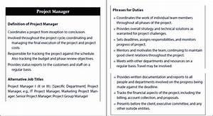 Project Manager  Job Description   Martin  C   2010