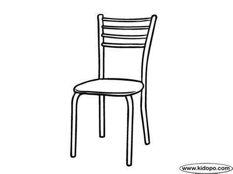 home decoration kitchen kitchen chair coloring page