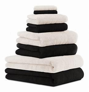 Lot De Serviette De Bain Destockage : lot de serviette de bain noir ~ Melissatoandfro.com Idées de Décoration