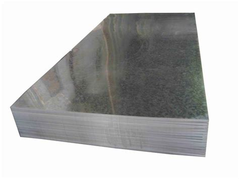 uses and characteristics of galvanized sheet metal