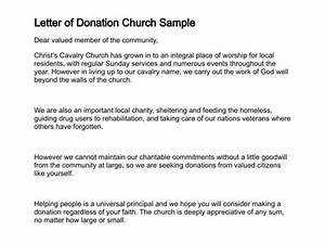 Sample letter requesting donations for church sample for Letter asking for donations for church