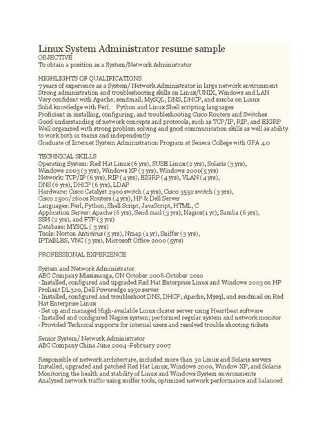 server administrator resume format sradd me