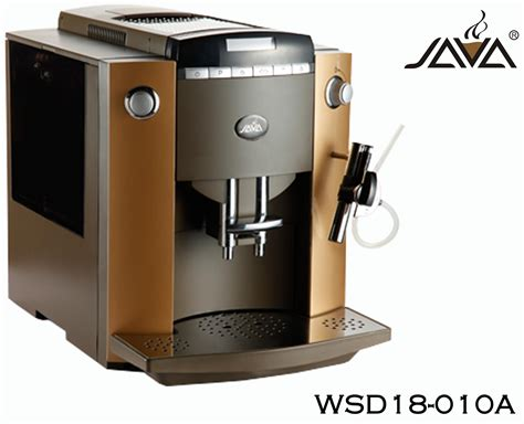 Finely ground with a fuller flavour: China Java Wsd18-010A Fully Automatic Coffee Machine Color Brown - China Auto Coffee Machine and ...