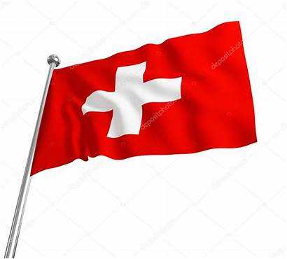 Swiss Flag Clipart Background Clip Isolated 3d