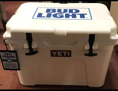 bud light yeti cooler bud cooler shop collectibles online daily