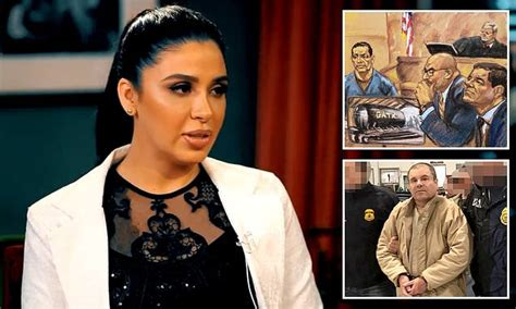 El Chapo's wife says she never saw him do anything illegal ...