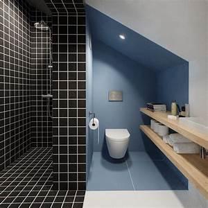 duplex penthouse with scandinavian aesthetics industrial With salle de bain style loft