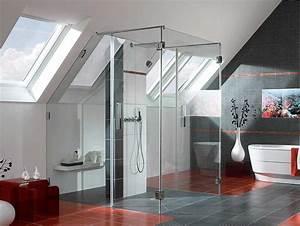 Tisch Mit Fliesen : dusche mit glaswand modernes design in bad loft mit ~ Michelbontemps.com Haus und Dekorationen
