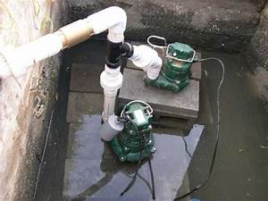 How To Pipe Two Pumps Into The Same Sump Pit