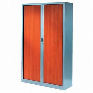 Armoire à Rideaux : armoire rideaux monocouleur l 100 cm x h 198 cm ~ Teatrodelosmanantiales.com Idées de Décoration
