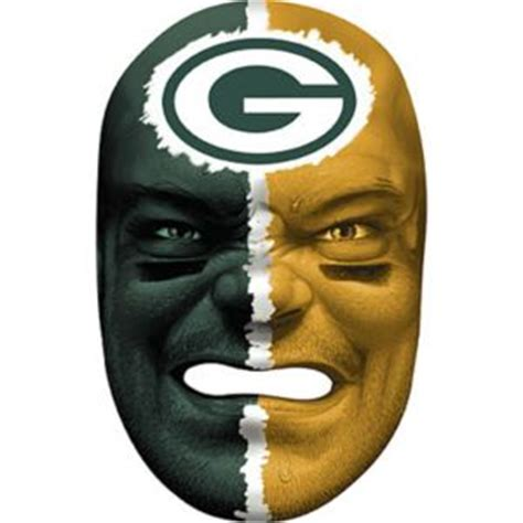 green bay packers fan face mask party city