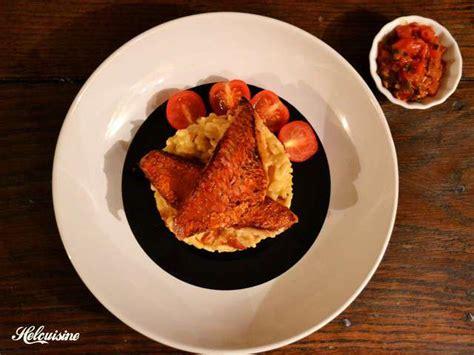 cuisine rouget recettes de sauce vierge et tomates