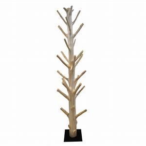 Porte Manteau Sur Pied Bois : charmant porte manteau arbre en bois 1 le porte manteau en bois de manguier 233co design est ~ Teatrodelosmanantiales.com Idées de Décoration