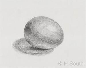 Pencil Shading Egg Exercise