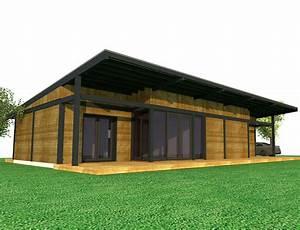 maison de plain pied a ossature bois nos projets maison With entree de maison design 6 maison ossature bois plain pied