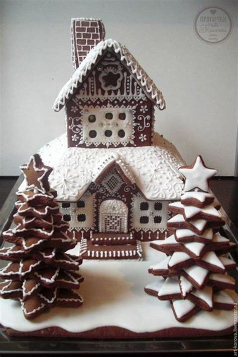 Decorating Ideas Gingerbread Houses by Best 25 Cool Gingerbread Houses Ideas On