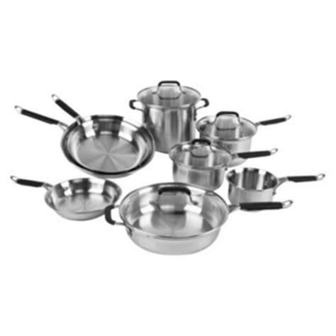 Kitchen Essentials Calphalon Stainless Steel Reviews by Calphalon Kitchen Essentials Stainless Steel 12 Pc