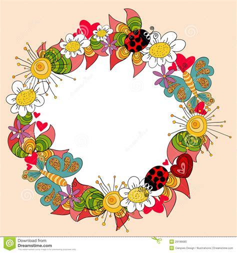 Fondo Feliz De La Primavera Foto de archivo Imagen: 29196680