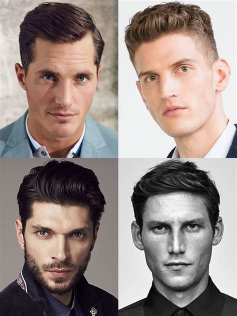 mens hairstyleshaircuts  oval face shapes male hair