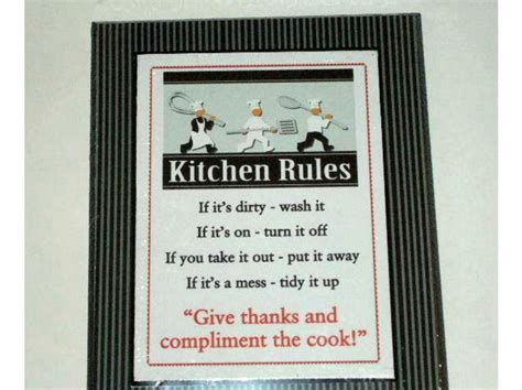 chefs plaque kitchen chef wall decor