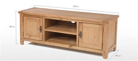 Rustic Oak Corner Tv Cabinet Quercus Living Top 15 Of Solid Oak Tv Cabinets