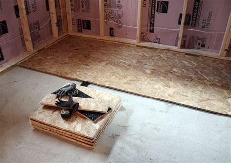 basement progress: electrical   subfloor : CHEZERBEY