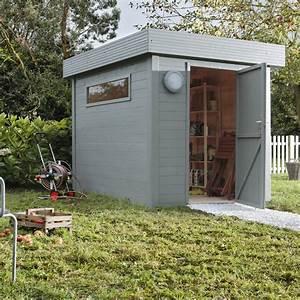 Abri bois Nivala, 4 82 m² Ep 19 mm Leroy Merlin