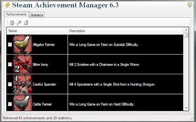 steam achievement manager  management