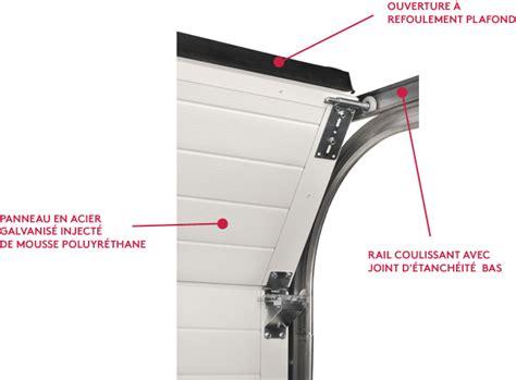 joint porte de garage sectionnelle porte de garage sectionnelle en acier porte de garage 224 d 233 placement lat 233 ral ou refoulement